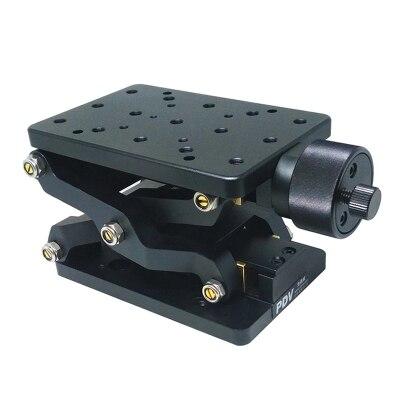 PT SD408/408 S wysokiej precyzyjne podnośnik ręczny osi Z instrukcja laboratorium Jack windy optyczne przesuwne windy podnoszenia platformy 60mm podróży w Prowadnice liniowe od Majsterkowanie na AliExpress - 11.11_Double 11Singles' Day 1