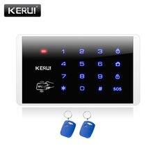 Kerui k16 rfid сенсорная клавиатура для беспроводной pstn gsm