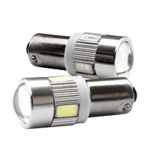 1pcs T11 T4W 233 BA9S 5630 5730 SMD 6 LED Interior Dome Bulb Car Parking Light Door Lamp 12V white blue red yellow green(China)