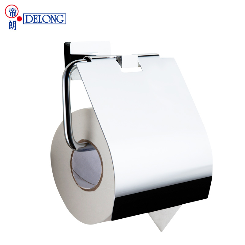 ФОТО DELONG bathroom solid copper paper towel rack toilet toilet paper holder roll paper holder bathroom hardware wall wall 263051