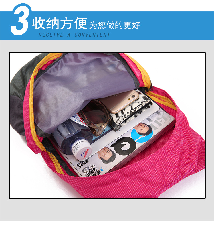 Mr Lazy Deluxe Printing Small Purse Portable Receiving Bag