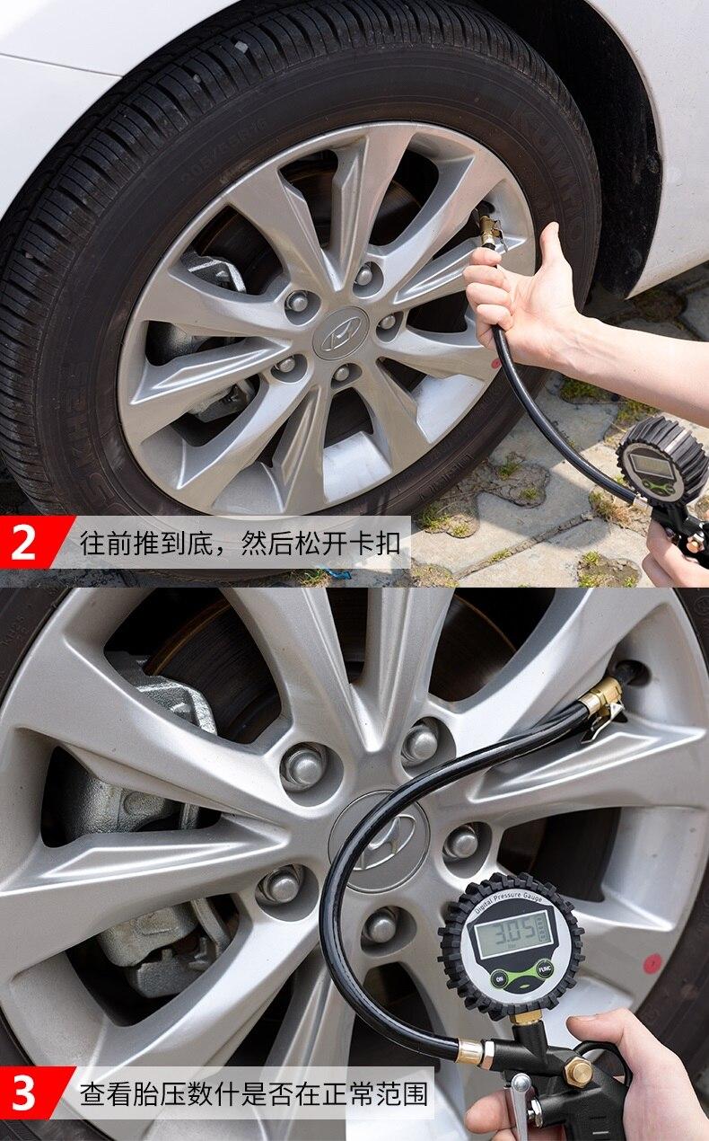 Car Tire Gauge Manometer