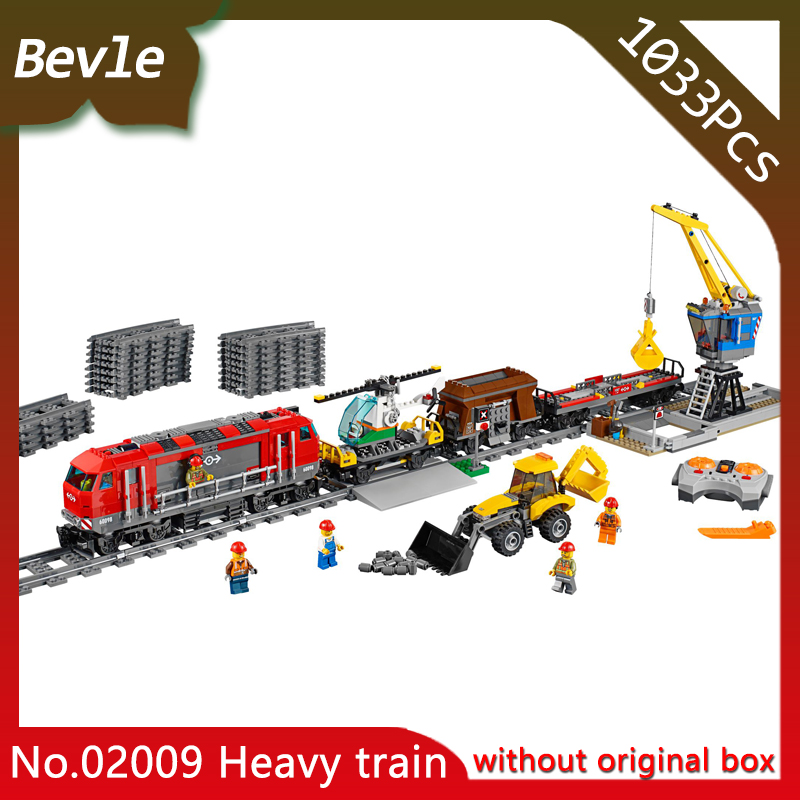 Doinbby Lepin 02009 1033Pcs CITY Series Heavy train Model Building Blocks set Bricks Educational Children For Toys Gift 60050 lepin 02012 774pcs city series deepwater exploration vessel children educational building blocks bricks toys model gift 60095