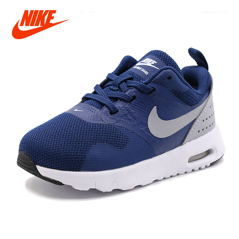 Original New Arrival Authentic NIKE AIR TAVAS MAX Kids Boy Girl Running  Shoes Sneakers Baby Toddler