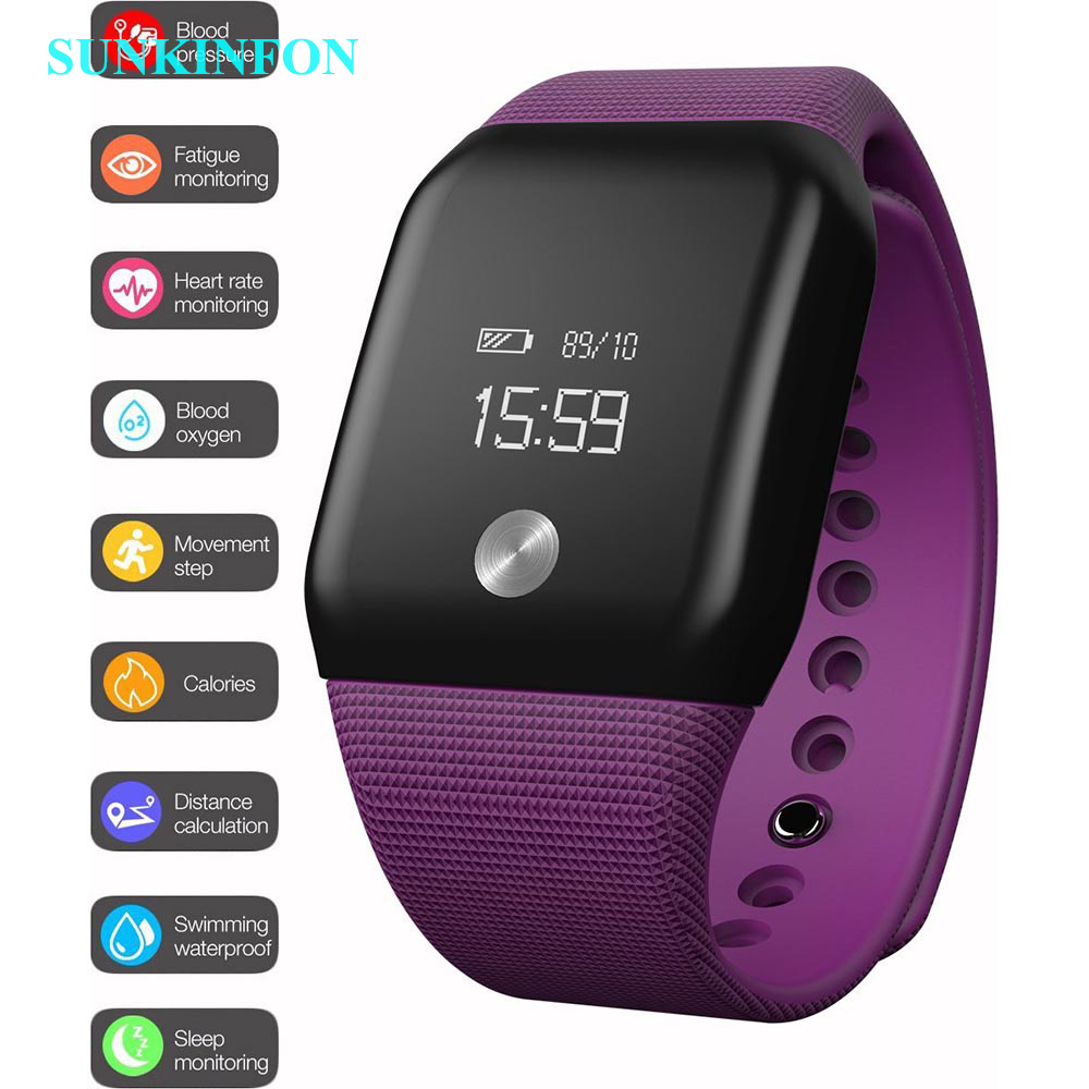 A88 Plus Smart Wrist Band Heart rate Pedometer Oxygen Oximeter Sports Bracelet Alarm Watch Bracelet Intelligent for IOS Android fashion z18 smart bracelet blood oxygen heart rate monitoring sns reminder pedometer sport smart wristband for woman android ios