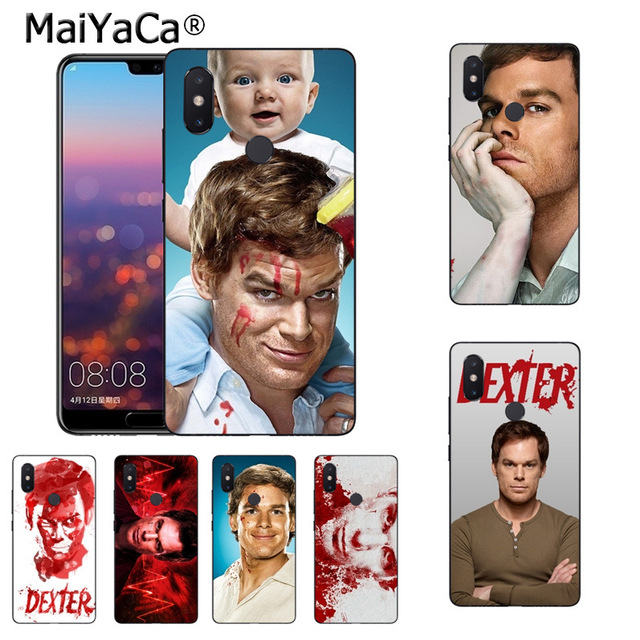Maiyaca Tv Show Dexter Morgan Soft Tpu Rubber Cell Phone Case For Xiaomi Mi  Se