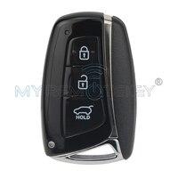 New Style Smart Car Key For Hyundai Santa Fe IX45 2013 2014 3 Button 433mhz ID46
