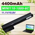4400 mah bateria para compaq mini 102 mini 110c cq10 mini110-1000 cq10-100 para hp mini 110 mini110 537626-001 hstnn-cb0c