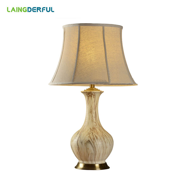 LAINGDERFUL Floor Lamp Lampshade American Horn Fork Lamp Shade European Contracted Linen Cloth Lampshade Lamp Cover