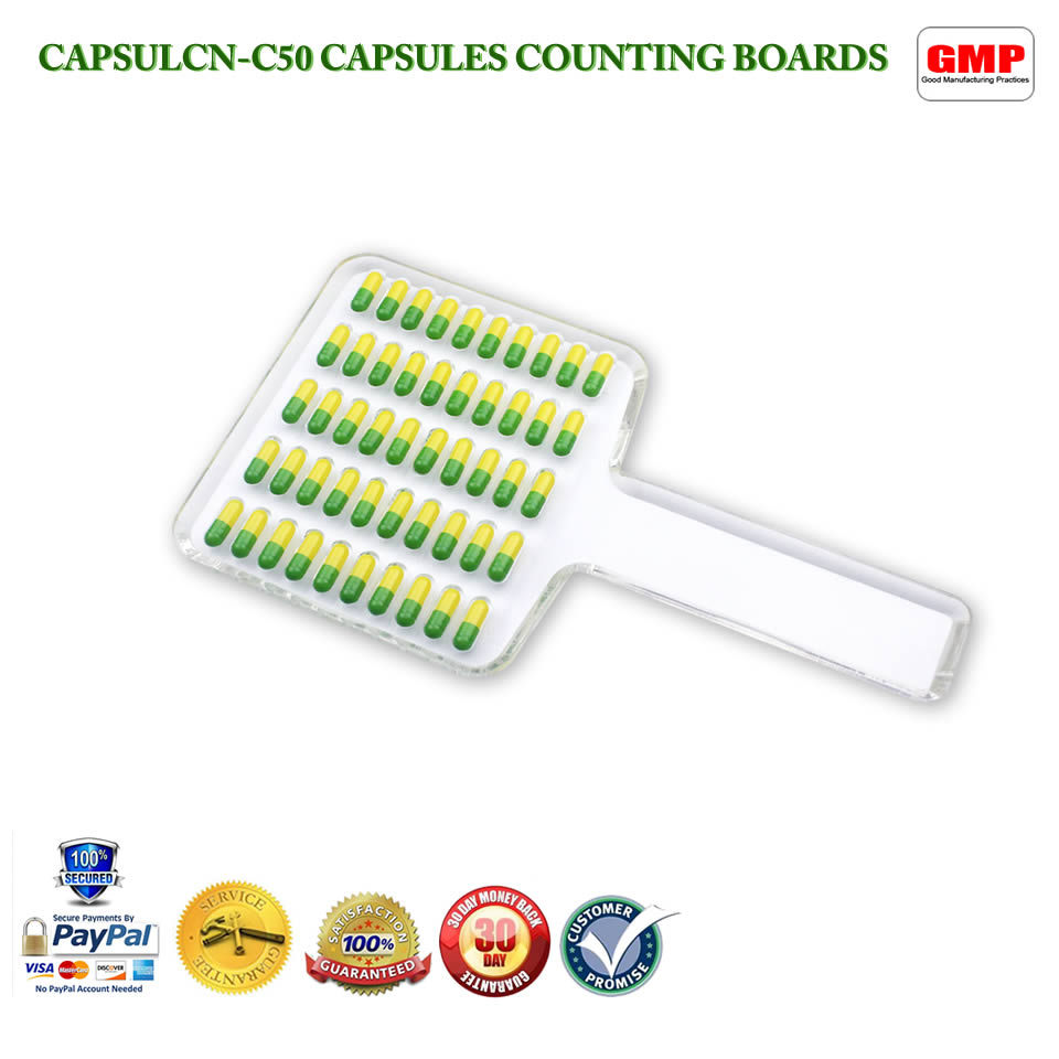 CN-50C Manual Tablet Counter/Pill Counter/Capsule Counter Board (Size 5-000)