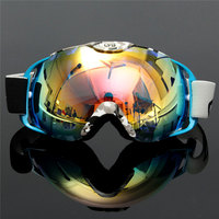 New Arrival Ski Goggles Double Lens UV400 Anti fog Adult Snowboard Skiing Glasses Women Men Snow Eyewear
