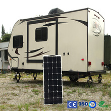 Factory Cheap Boguang 1pcsx100W 12V flexible solar panel cell/module/system RV/marine charger battery light kit led out