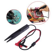 SMD Индуктор тестовый зажим зонд Пинцет для резистор мультиметр конденсатор метр зажим зонд для SMD компоненты измерения PTSP
