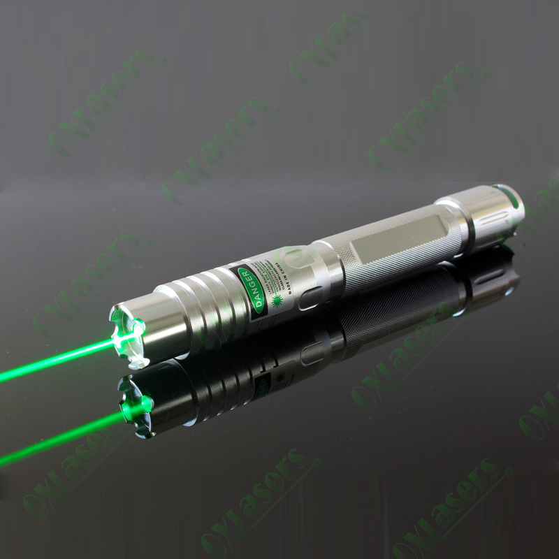 OXLasers OX-GX7 high power 500mW focusable burning green laser pointer fat Beam extream bright and powerful EMS FREE SHIPPING