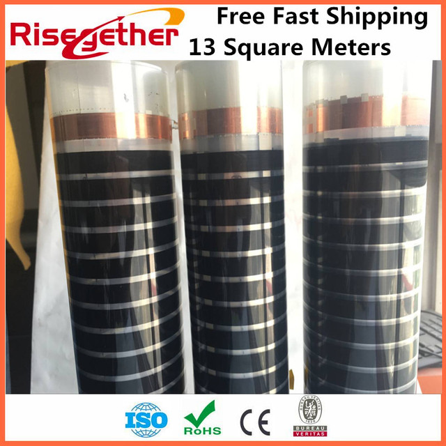 13m2 Free Shipping Energy Saving Floor Heating Film 220w Far Infrared Galaxy Ptc Carbon