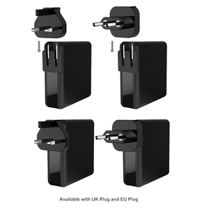 Image 2 - 61W PD Type C USB Fast Charger QC 3.0 Quick Charger for Macbook Samsung A50 A30 iPhone Laptop Tablet With US EU UK Plug Adapter