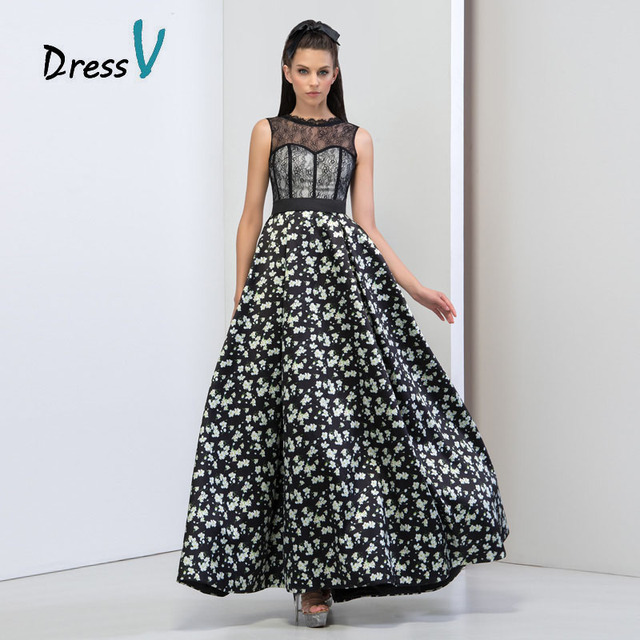 Country Style Evening Dress