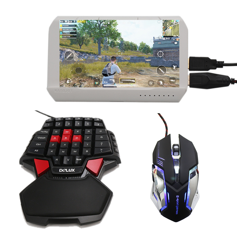 Handjoy Kmax 2 0 Gun Throne Bluetooth PUBG Mobile Keyboard Mouse Adapter  Gamepad Controller Fire Aim Assist Tool for PUBG Game