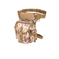 Waterproof Oxford Cloth Leg Bags Military Camouflage Shoulder Messenger Reporter Photography Sports Men Belt Fanny Pack
