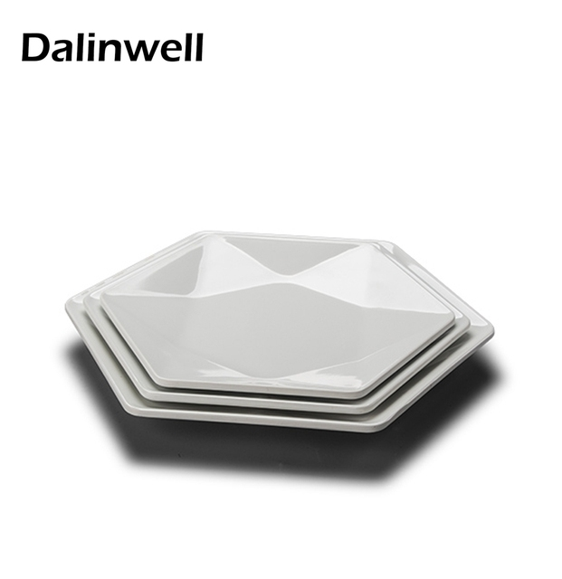 2017 New Anese Hotel Tableware Creative Imitation Porcelain Dish White Melamine Dishes Serving Plate Western Food Fruit Tray