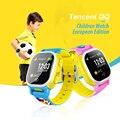 Tencent qq edição europeia crianças smart watch wi-fi gps relógio Anti Crianças Perdidas Smartwatch SIM LBS SOS Alarme para Android IOS