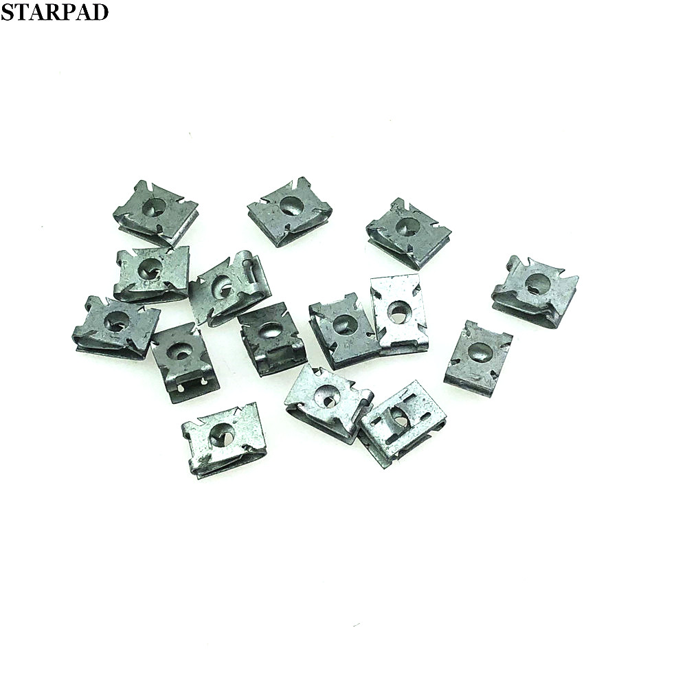Free shipping For Sunny way An Mingrui Hao Rui wave Luo Jingrui  top a engine skid plate clip screw fender clip (8 pcs/lot)