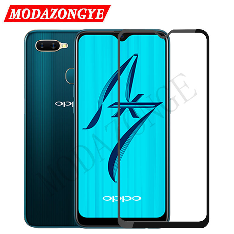 Screen Protector OPPO AX7 Tempered Glass For OPPO AX7 CPH1901 CPH 1901 OPPOAX7 OPPO AX 7 A7 Glass Full Cover Protective Film 6.2