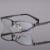 Dos homens de alta qualidade espetáculo flexível titanium frame ótico óculos de armação de prescrição armações de óculos espetáculo requintado 8193