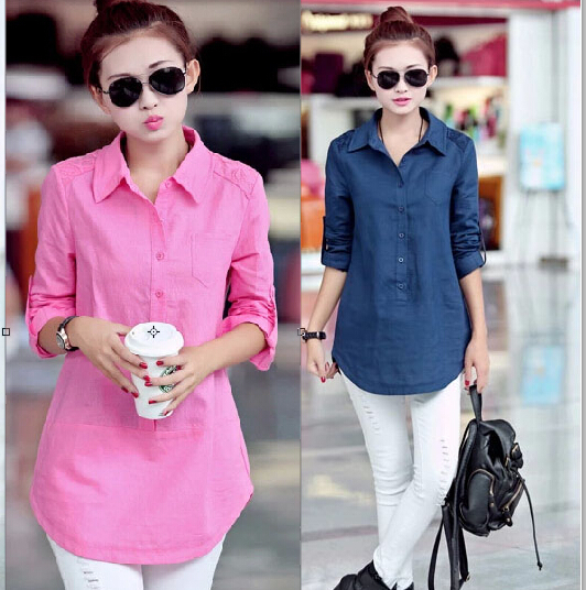 Compare Prices on Navy Blue Shirts for Women- Online Shopping/Buy ...