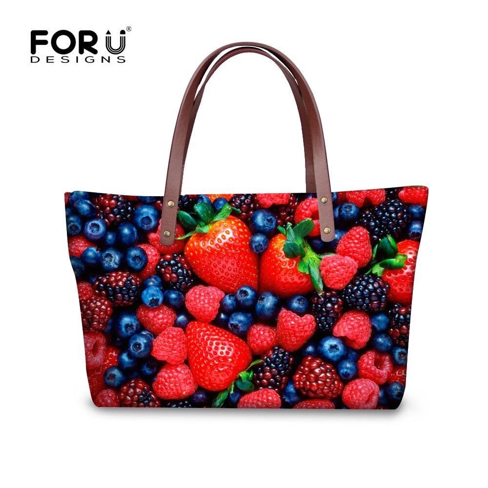 ФОТО Famous Brand Luxury Women Handbags Strawberry Women's Bolsos High Quality Messenger Bags Shoulder Bag Sac A Main Femme De Marque
