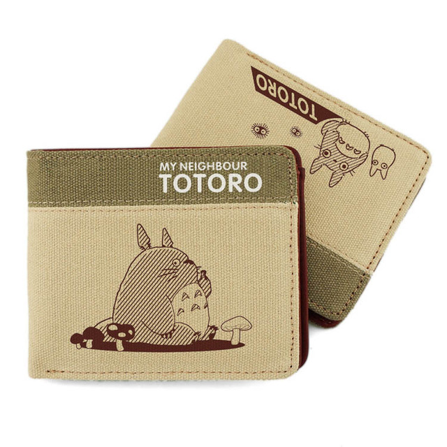 US $14 99 |Studio Ghibli My Neighbor Totoro Short Wallet Coins Purses Anime  Purses-in Wallets from Luggage & Bags on Aliexpress com | Alibaba Group