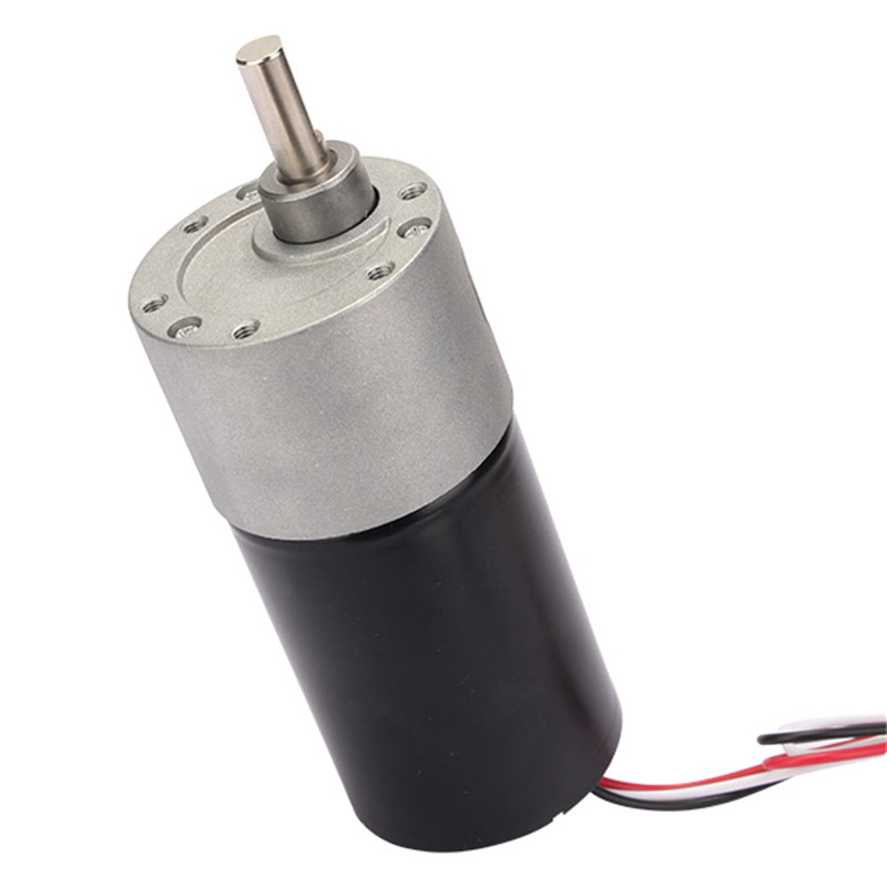 High Quality DC 24V Motor Micro Gear Reducer Motor 40RPM Permanent Magnet With Lines high quality z5d40 24gn 5gn100k dc motor 40w 3000rpm 24v 2 6a micro dc gear motors dc brush gear motor dc motor hot selling