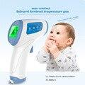 Herramienta de diagnóstico Digital Termómetro Para El Bebé Adulto Medida de Temperatura Sin Contacto Termómetro Infrarrojo Del Cuerpo luz de Fondo de Color