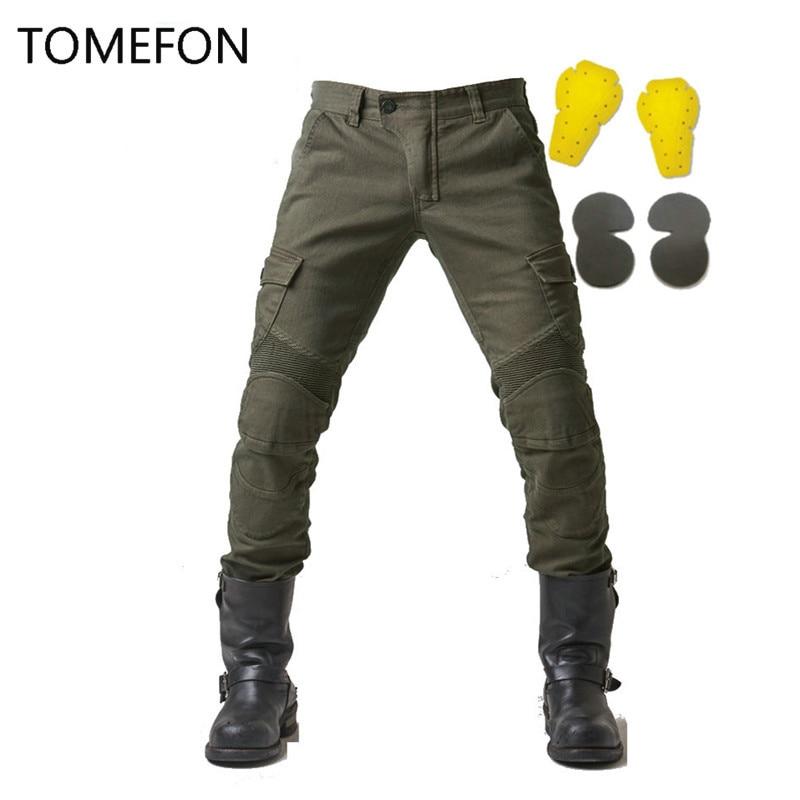MOTORPOOL Komine UGB 02 Pantalons Jeans Moto Ride Jeans Loisirs - Accessoires et pièces de moto - Photo 3