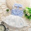 Quente de verão do bebê meninas lace dress crianças dress crianças bonito moda muito bonita véu criança vestidos vestido de verão