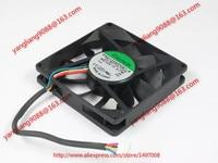 SUNON PSD1208PHB1 A (2).B3730.F.GN DC 12V 3.7W 4 wire 80x80x15mm Server Cooler Fan