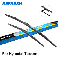 Car Wiper Blade For Hyundai Tucson 23 16 Rubber Bracketless For Front Windscreen Car Accessories Freeshipping