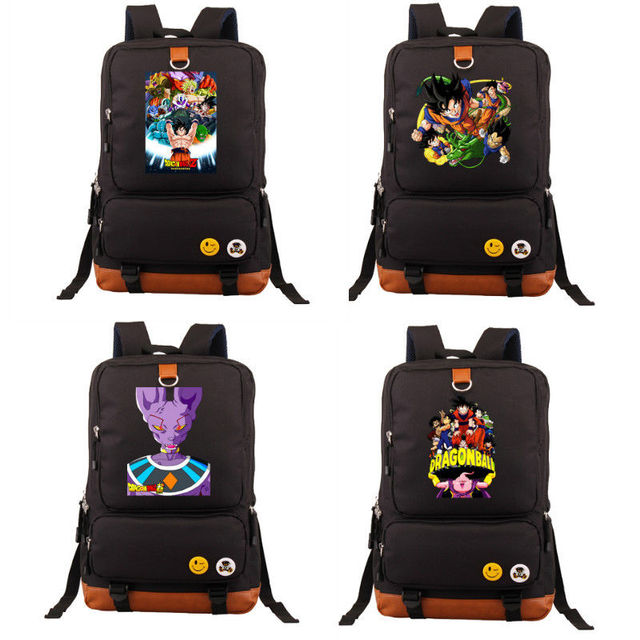 Dragon Ball Z Son Goku Messenger Shoulder Bag Characters School ...