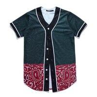 Cashew Flowers Baseball Jersey 3D Short Sleeve Shirt Men/Women tshirt Tops Tee Funny 3D Print Hip Hop Harajuku Summer Streetwear