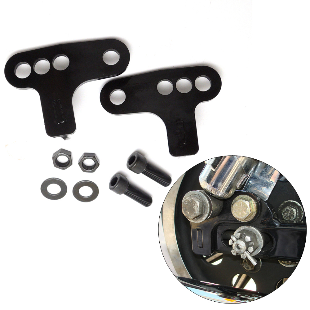 Rear Adjustable 1 2  3 Lowering Kit For Harley Sportster XL883 XL1200 2005-2013 Hugger Roadster Motorcycle Accessories hp 2530 8