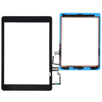 Free Shipping White/Black Touch Screen Digitizer + Home Button + Adhesive Assembly with Tools Replacement for iPad Air 5th
