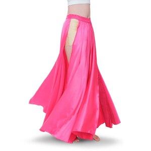 Image 2 - Traje de dança do ventre feminino, fantasia de dança do ventre com 2 lados, saia oriental, roupas de dança do ventre saia,