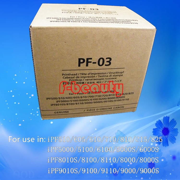 где купить Original Refurbished PF-03 Print Head for Canon iPF500 510 600 610 720 810 5000 6000S 6200 8000 8010S 8100 9000 9100 Printhead дешево
