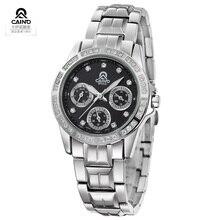 2016 Watches Luxury Brand Full Steel Wristwatches Fashion Watch Crystal Diamond Quartz Watch Clock Women