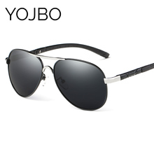 YOJBO Polarized Sunglasses Men 2017 Fashion  Mirror Lady Glasses UV400 Retro Famous Brand Designer Vintage for Women
