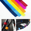 100pcs/lot Magic PC TV Computer Cord Wire Cable Winder Sticky Adhesive Strap Organizer Manager Holder Management Tie Belt