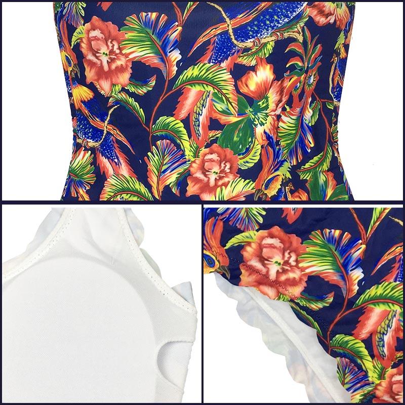 2017 Նոր տպագիր մեկ կտոր լողազգեստ - Սպորտային հագուստ և աքսեսուարներ - Լուսանկար 5