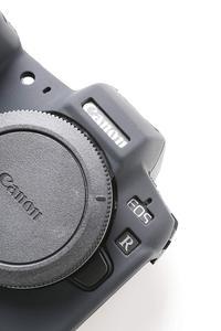 Image 2 - חדש סיליקון שריון עור מקרה גוף כיסוי מגן עבור Canon EOS R ראי דיגיטלי