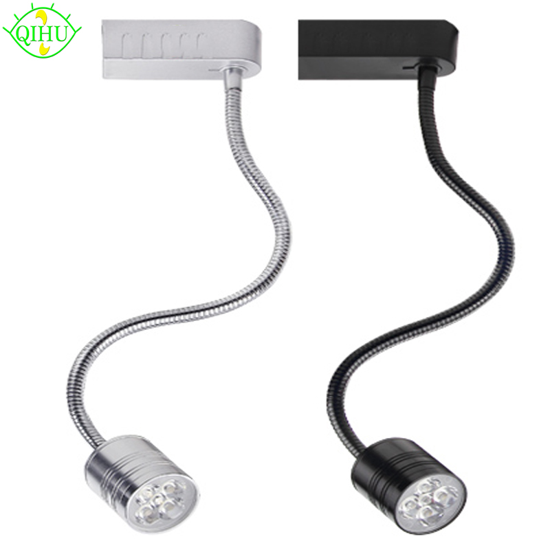 LED Track Light 3w 5w Ceiling Rail lights For Pendant Kitchen Clothes Shop Shoes Store Equal 60W Halogen Lamps Spot Lighting