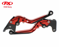 FX CNC Folding Extendable Adjustable Motorcycle Brake Clutch Levers For YAMAHA YZF R125 Brake And Clutch